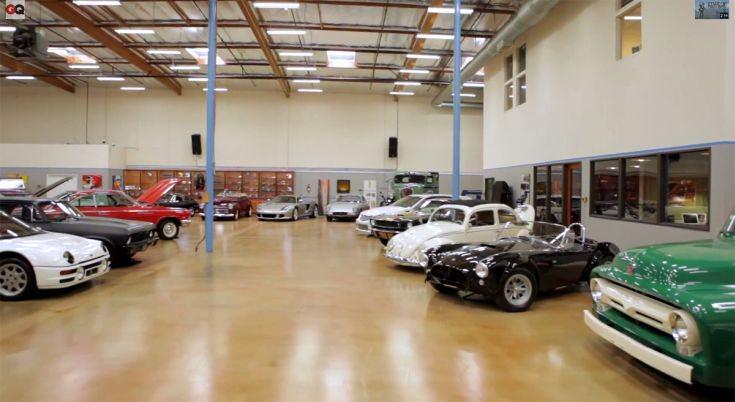 Tim Allen Έτσι είναι τα γκαράζ των πλουσίων που είναι παθιασμένοι με τα αυτοκίνητα