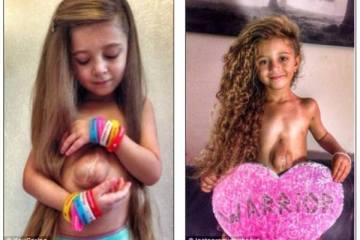 To 6χρονο κορίτσι που γεννήθηκε με την καρδιά της έξω από το στήθος της, δεν το βάζει κάτω και συνεχίζει δίνοντας ένα τεράστιο παράδειγμα ζωής!