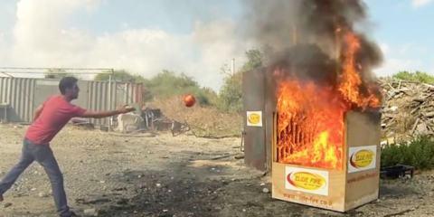 βόμβα είναι ότι πιο πρωτοποριακό για την κατάσβεση πυρκαγιών