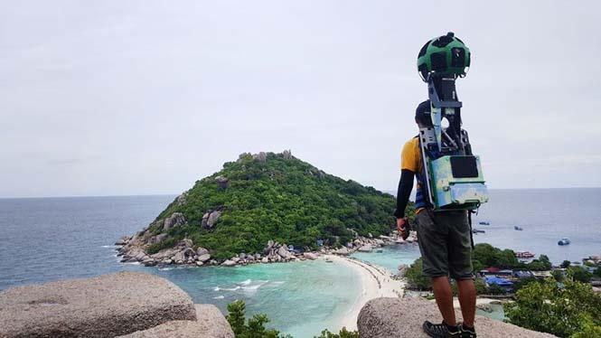 Εργαζόμενος του Google Street View