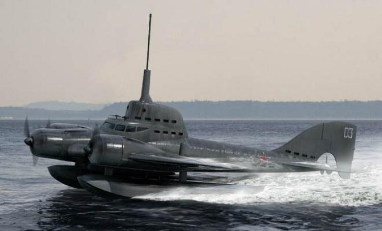 ιπτάμενο υποβρύχιο των Ρώσων