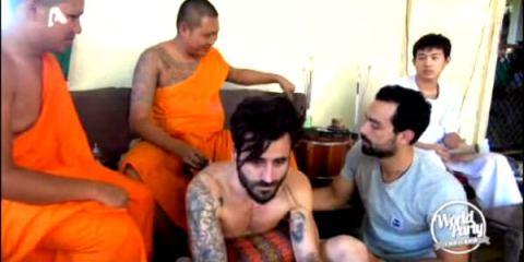 βελόνα του Ινδού tatoo artist