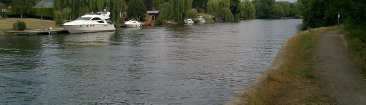River fishing in Egham and Staines