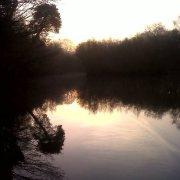 Winter dawn at Childown