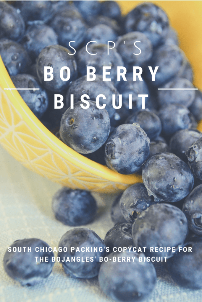 Bo Berry Biscuit Recipe