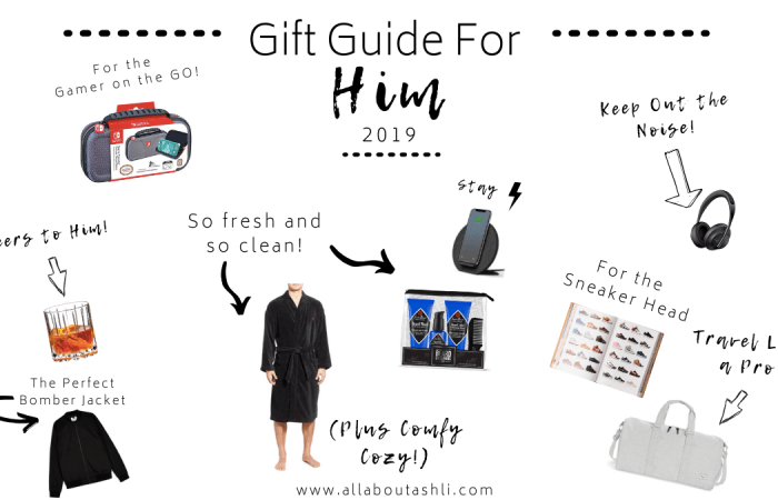 Holiday Gift Guide For Him 2019