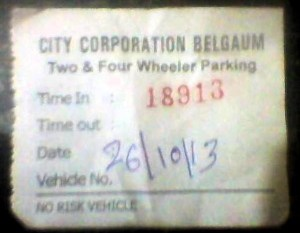 parking Belgaum