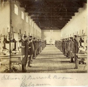 Image Courtesy: eddieolliffe.wordpress.com 1860 Barracks in Belgaum now Belagavi