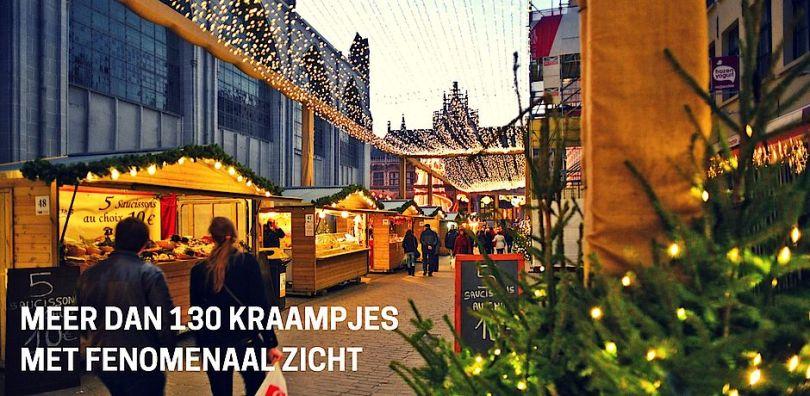 130以上のマーケットが、ゲントの街並みを飾ります ©gentsewinterfeesten.be