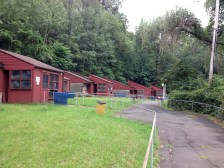 Cabins at camp
