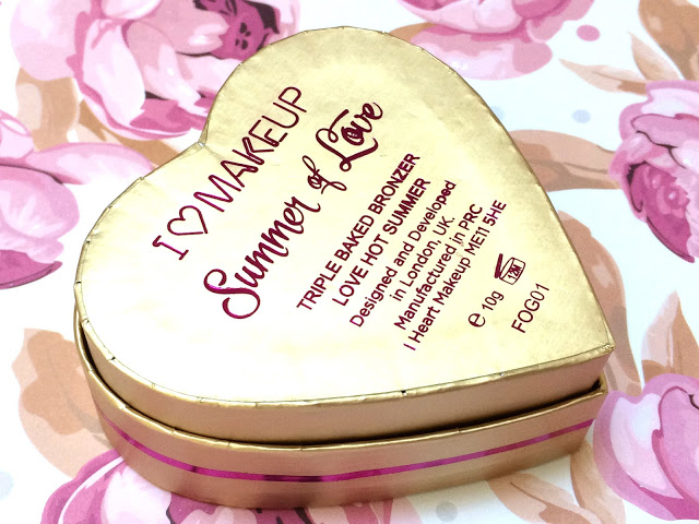 23a16 img 2632 - I HEART MAKEUP Blushing Hearts - Love Hot Summer Triple Baked Bronzer