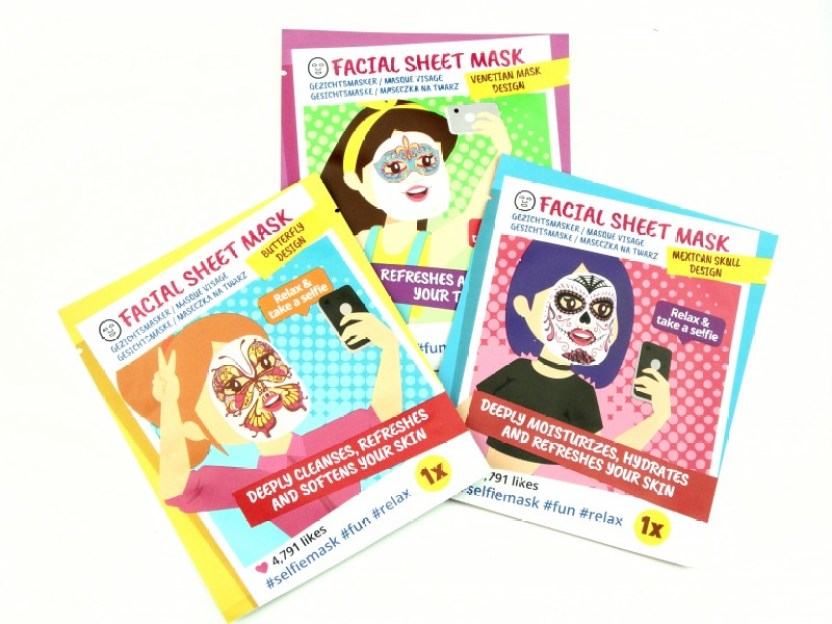 DSC09708 InPixio 1 - 3X ACTION SELFIE SHEET MASK
