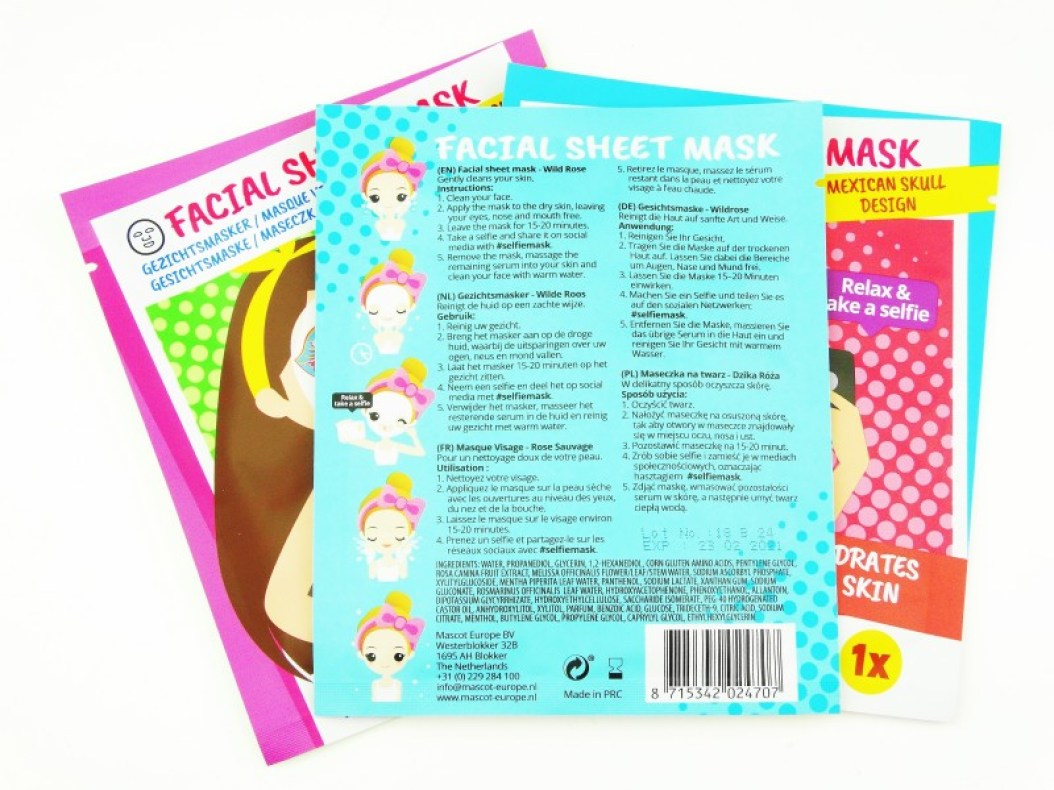 DSC09978 1 InPixio - 3X ACTION SELFIE SHEET MASK
