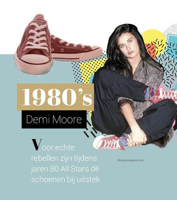 a0aba 4 demimoore - 100 JAAR CONVERSE ALL STARS