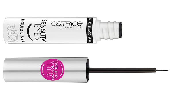 a71fe catr sensitive eyes liquideyeliner offen - CATRICE UPDATE HERFST/WINTER 2017/2018