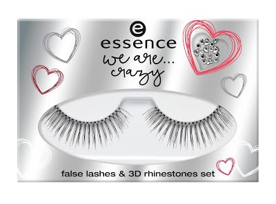 aa186 ess weare false lashes and 3d rhinestone set - PREVIEW: ESSENCE WE ARE...