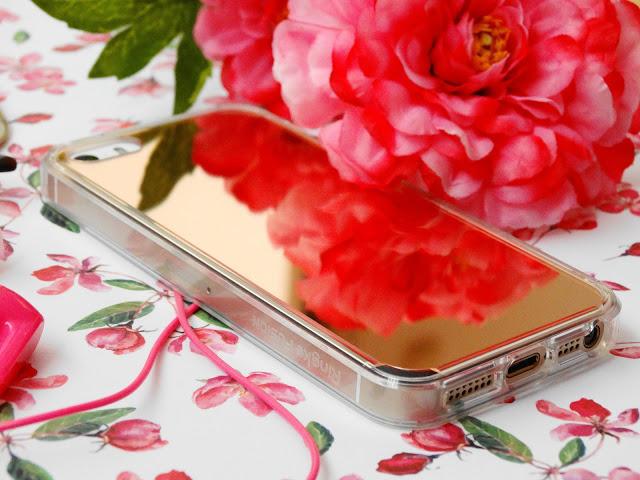 c00eb dsc018522b252822529 - Ringke Fusion Mirror Apple iPhone SE spiegel hoesje Rose Gold