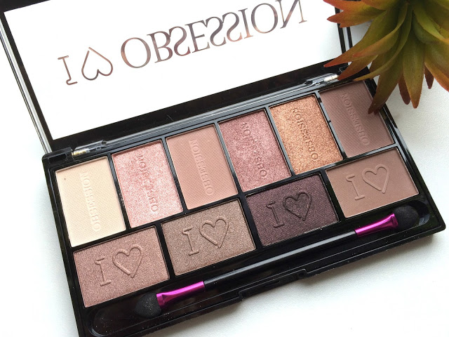 c3461 img 6076 - I ♥ MAKEUP I♥ OBSESSION eyeshadow palette