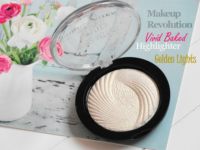 cb39a dsc046702b252812529 - Makeup Revolution Vivid Baked Highlighter - Golden Lights