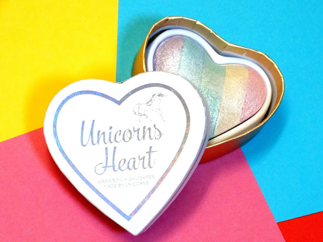 dd710 dsc00137252812529 - I Heart Makeup Unicorn Heart Baked Blush