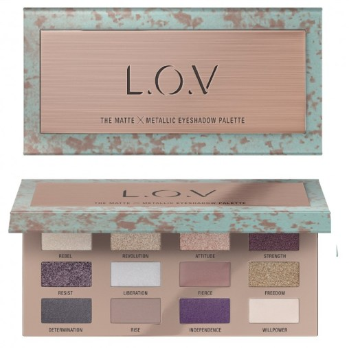 4059729035028 L.O.V THE MATTE X METALLIC eyeshadow palette P2 os 300dpi 1 - L.O.V. UPDATE