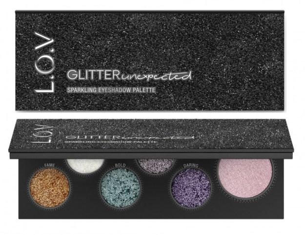 4059729035035 L.O.V GLITTERUNEXPECTED sparkling eyeshadow palette P2 os 300dpi - L.O.V. UPDATE