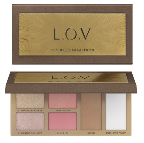 4059729035493 L.O.V THE SHAPE X GLOW face palette P2 os 300dpi - L.O.V. UPDATE