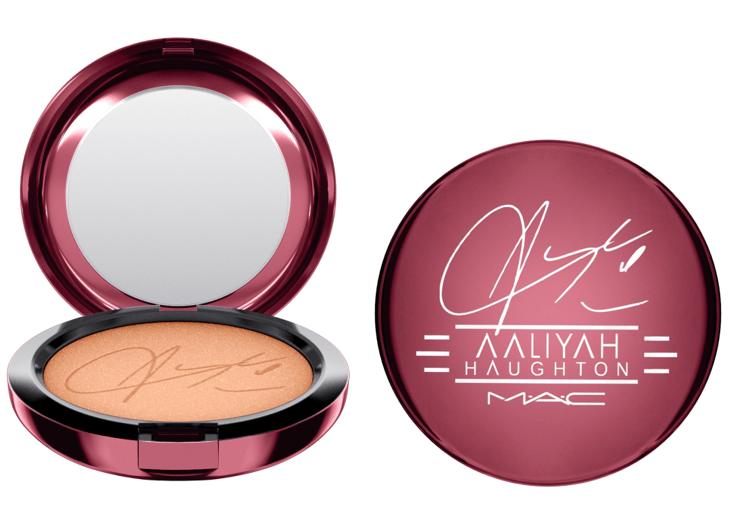 bronzing powder - M∙A∙C x Aaliyah Haughton