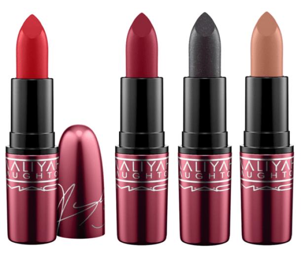 lipsticks - M∙A∙C x Aaliyah Haughton