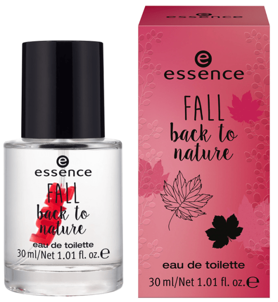 "essence fall back to nature eau de toilette - PREVIEW │ ESSENCE TREND EDITION ""FALL BACK TO NATURE"""