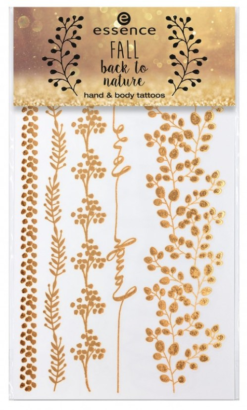 "essence fall back to nature hand body tattoos 01@ - PREVIEW │ ESSENCE TREND EDITION ""FALL BACK TO NATURE"""