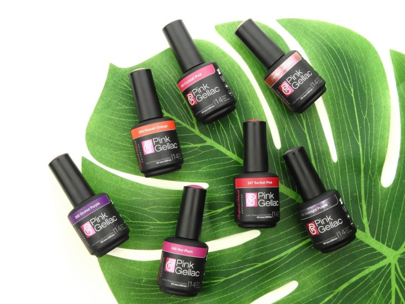 PINK GELLAC TROPICAL ISLAND COLLECTIE