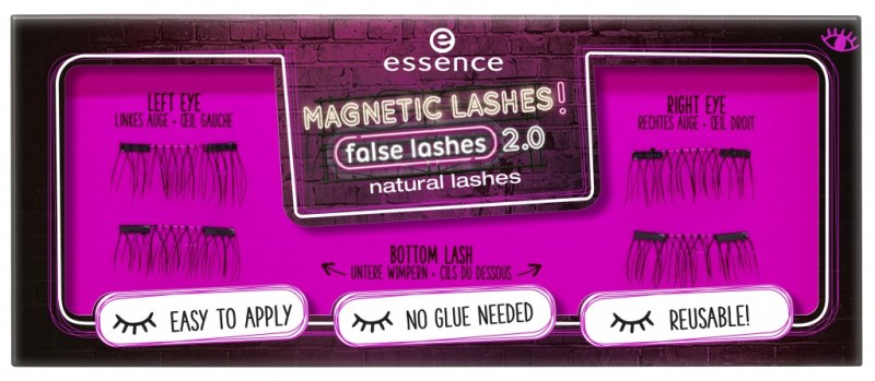 453110 natural lashes Image Front View Closed - PREVIEW│ESSENCE MAGNETIC LASHES! FLASE LASHES 2.0