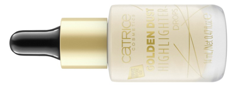4059729192110 Golden Dust Highlighter Drops Image jpg Front View Closed - CATRICE ASSORTIMENT UPDATE LENTE / ZOMER 2019