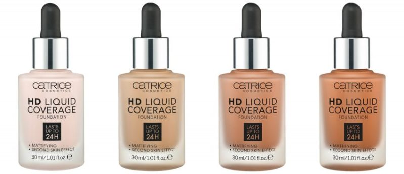 Catrice HD Liquid Coverage Foundation - CATRICE ASSORTIMENT UPDATE LENTE / ZOMER 2019