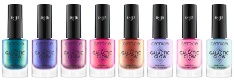 GALACTIC GLOW TRANSLUCENT EFFECT NAIL LACQUER - CATRICE ASSORTIMENT UPDATE LENTE / ZOMER 2019