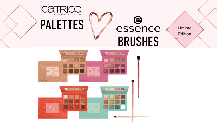 PREVIEW │ CATRICE PALETTES LOVE ESSENCE BRUSHES