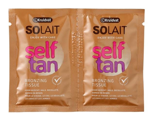 Solait Self Tan Tissues - VLEKKELOOS DE LENTE IN MET SELF TAN PRODUCTEN VAN KRUIDVAT