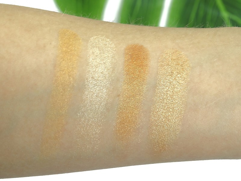 02 chasing the sun - ESSENCE BAKED MULTI COLOUR HIGHLIGTERS EN FACE BRUSH