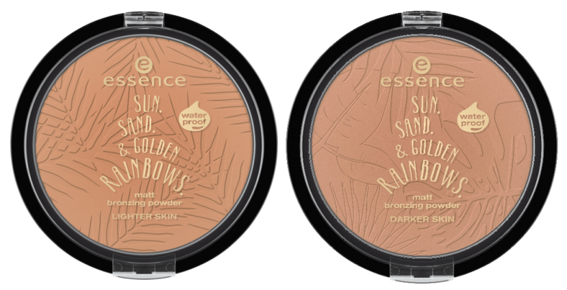 "Essence matt bronzing powder waterproof trend edition sun sand golden rainbows - PREVIEW │ESSENCE TREND EDITION ""SUN.SAND & GOLDEN RAINBOWS."""
