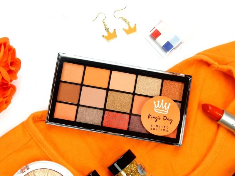 MUA eyeshadow palette kingday - MUA COSMETICS KINGSDAY COLLECTIE