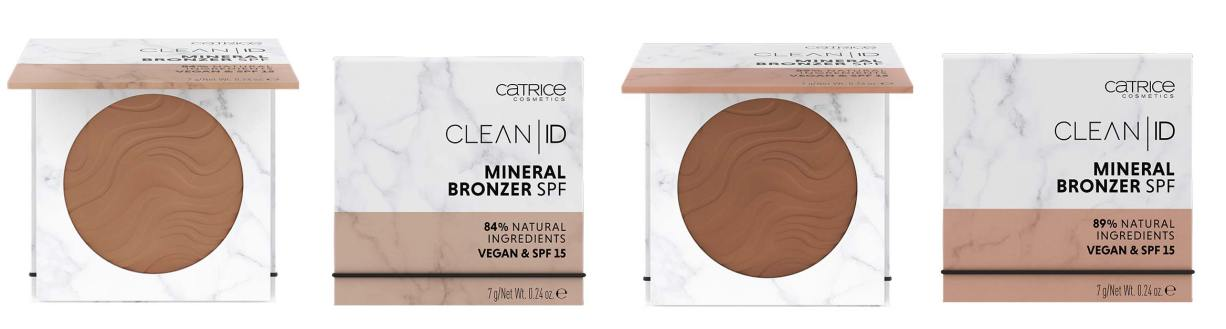 catrice clean id mineral bronzer - CATRICE ASSORTIMENT UPDATE HERFST/ WINTER 2019