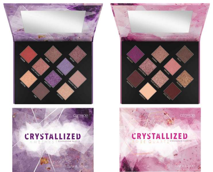 Catrice Crystallized Eyeshadow Palette -010 Raise Up Your Voice & 020 Sister Of My Soul.