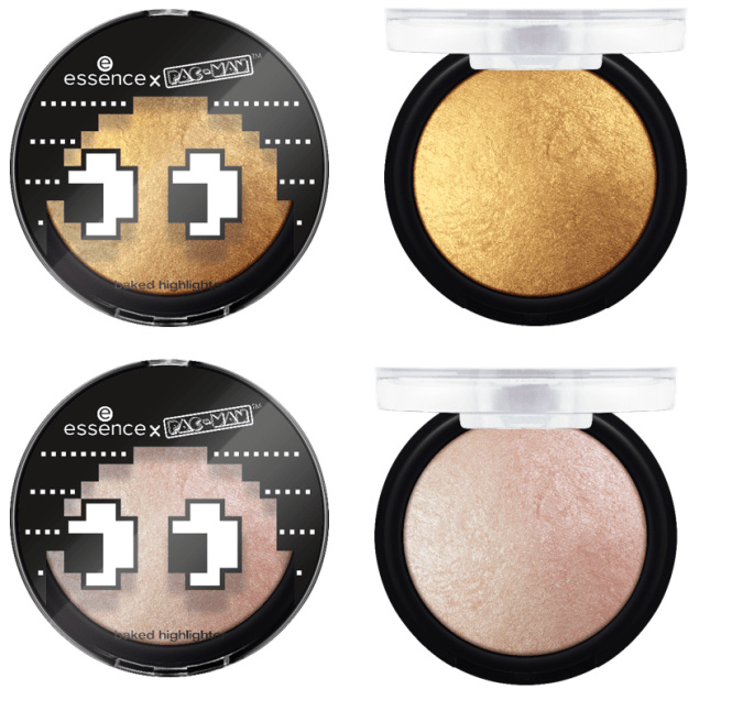 "Essence trend edition x PAC MAN baked highlighter - PREVIEW │ESSENCE TREND EDITION ""ESSENCE X PAC-MAN"""
