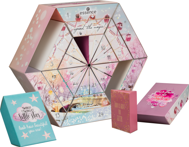 4059729226624 essence spread the magic advent calendar composing products - PREVIEW │ESSENCE SPREAD THE MAGIC