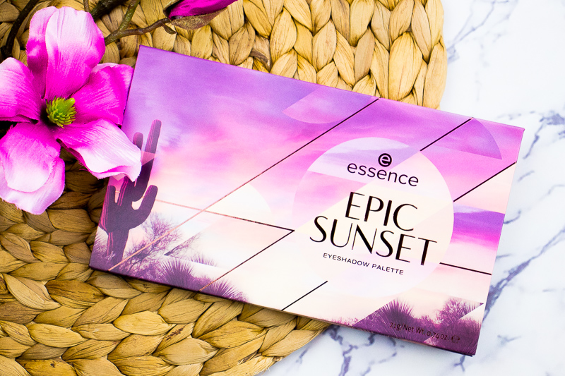 IMG 5254 - ESSENCE EPIC SUNSET EYESHADOW PALETTE
