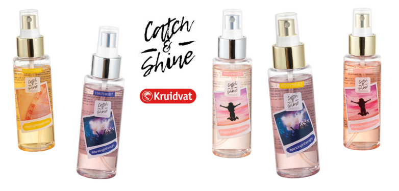 KRUIDVAT CATCH SHINE BODY HAIR MIST - PREVIEW │KRUIDVAT CATCH & SHINE BODY & HAIR MIST