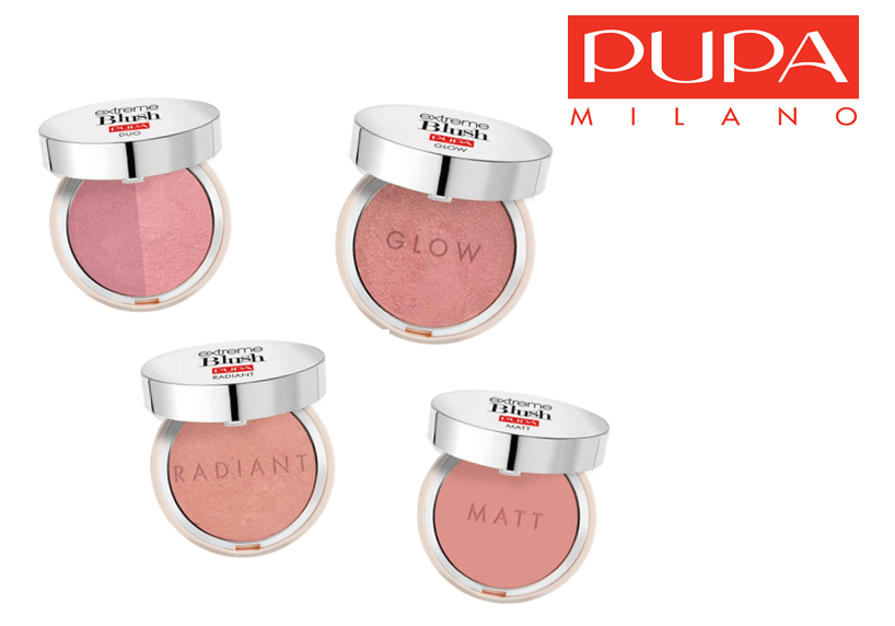 PUPA MILANO EXTREME BLUSH COLLECTIE