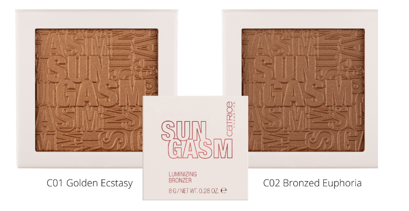 """LUMINIZING BRONZER - PREVIEW │CATRICE LIMITED EDITION """"SUNGASM"""""""