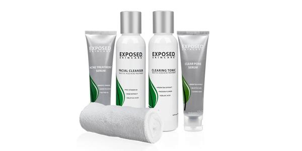 Exposed Acne Treatment: Basic Kit